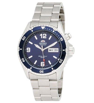オリエント 腕時計 CEM65002D オートマチック ブルー×ステンレススチールベルト