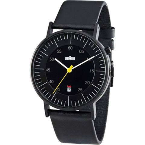 ブラウン|Braun 時計/BN0013BKBKG/ブラック×ブラックレザーベルト