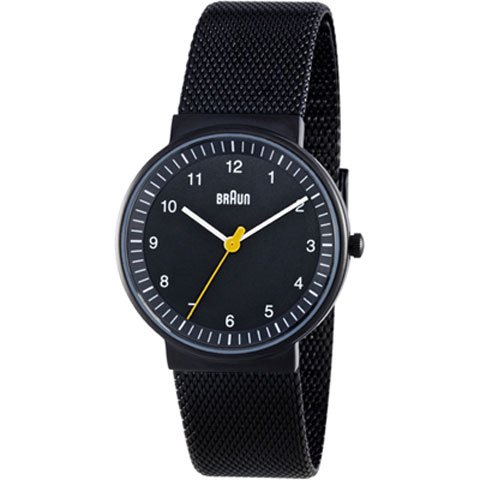 ブラウン|Braun 時計/BN0031BKBKMHL/ブラック×ブラックメッシュベルト