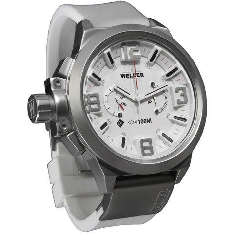 ウェルダー 腕時計 K22 900 ホワイトラバーベルト