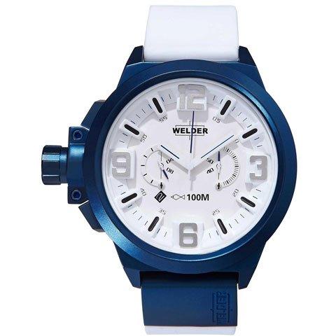 ウェルダー 腕時計 K22 901 ブルー×ホワイトラバーベルト
