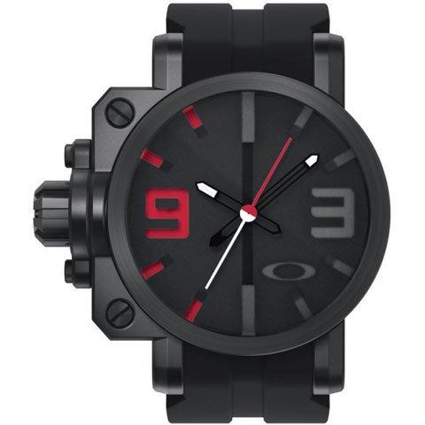 オークリー 腕時計 ギアボックス 10-062 ステルスブラック