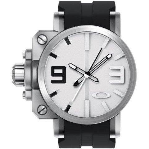オークリー 腕時計 ギアボックス 10-064 ホワイトダイヤル