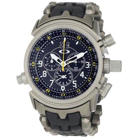 オークリー 腕時計 トゥエルブゲイジ 10-071 ブラック×シルバー