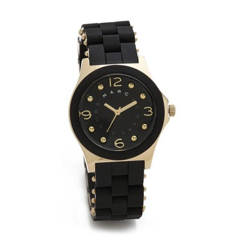 マークバイマークジェイコブス 腕時計 レディース MBM2540  ペリー ブラック×ゴールド