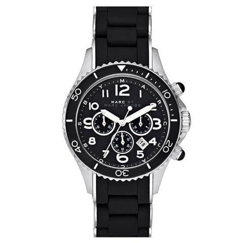 マークバイマークジェイコブス 腕時計 ユニセックス ロック MBM2551 ブラック×シルバー