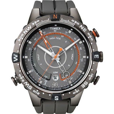 タイメックス 腕時計 T49860 エクスペディション E-タイド Eコンパス グレー