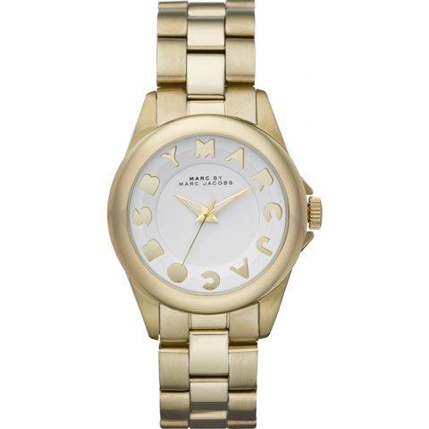 マークバイマークジェイコブス 腕時計 レディース バブル MBM3111 ホワイト×ゴールド