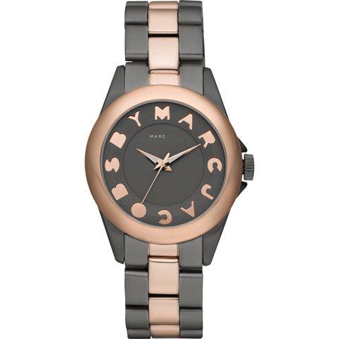 マークバイマークジェイコブス 腕時計 レディース バブル MBM3114 グレー×ローズゴールド
