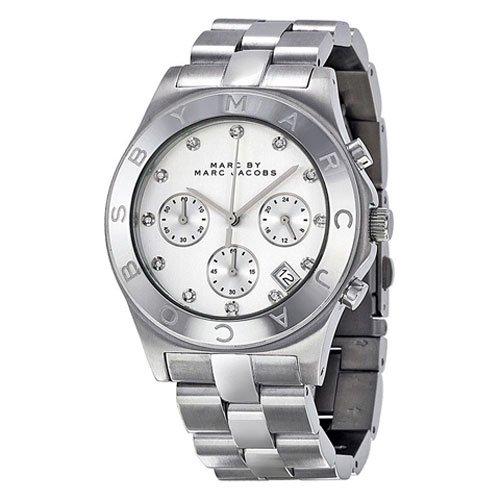 マークバイマークジェイコブス 腕時計 レディース MBM3100 ブレード クロノグラフ シルバー