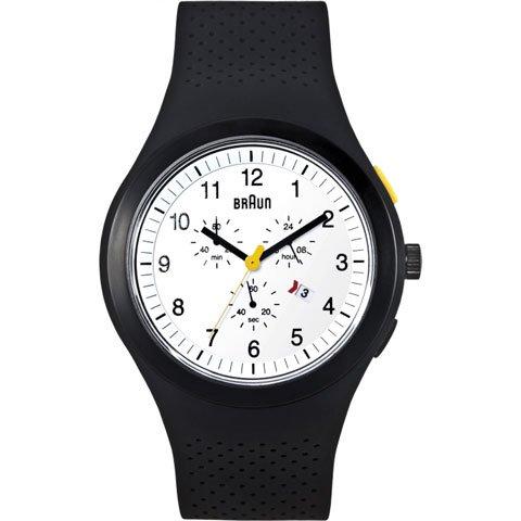 ブラウン|Braun 時計/スポーツウォッチ/ BN0115WHBKBKG/ホワイト×ブラックラバーベルト