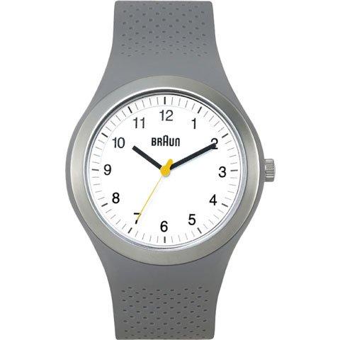 ブラウン|Braun 時計/スポーツウォッチ/BN0111WHGYG/ホワイト×グレーラバーストラップ