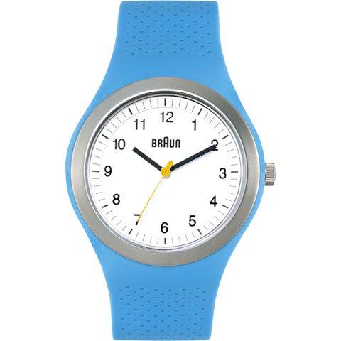 ブラウン|Braun 時計/スポーツウォッチ/BN0111WHBLG/ホワイト×ブルーラバーストラップ