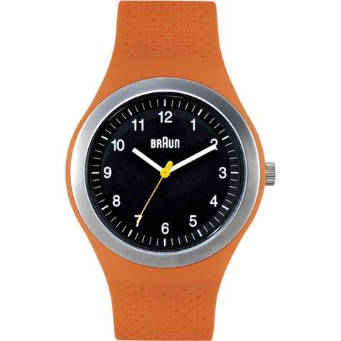 ブラウン|Braun 時計/スポーツウォッチ/BN0111BKORG/ブラック×オレンジラバーストラップ