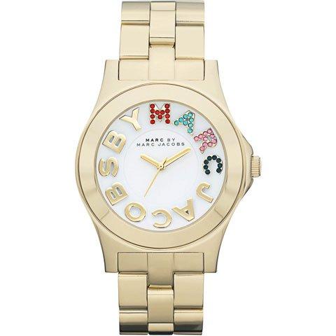 マークバイマークジェイコブス 腕時計 レディース リベラ MBM3137 マルチカラー×ゴールド