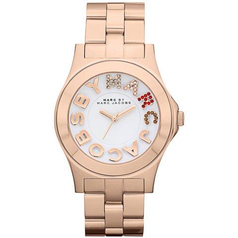 マークバイマークジェイコブス 腕時計 レディース リベラ MBM3138 マルチカラー×ローズゴールド