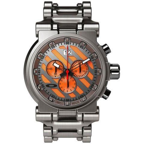 オークリー 腕時計 ホローポイント 10-047 オレンジダイヤル