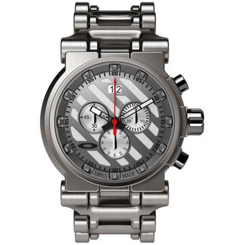 オークリー 腕時計 ホローポイント 10-046 ホワイトダイヤル