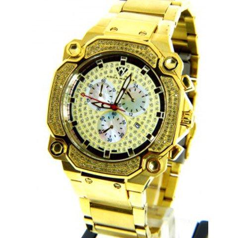 アクアマスター 腕時計 W142 1,30カラット ソリッドゴールド×ステンレススチール