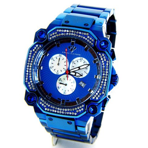 アクアマスター 腕時計 W142-5 1,30カラット ブルー