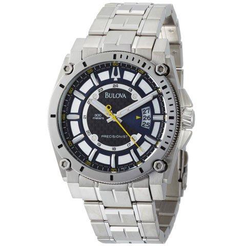 ブローバ 腕時計 プレシジョニスト 96B131 ステンレススチールベルト
