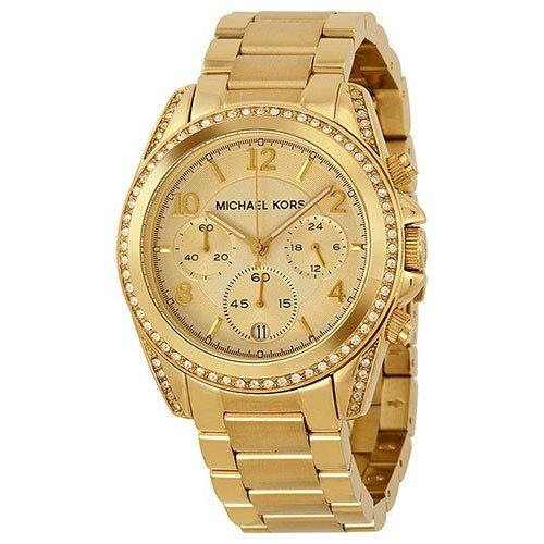Michael Kors(マイケルコース) 時計 ブレア MK5166 ゴールド×ゴールド