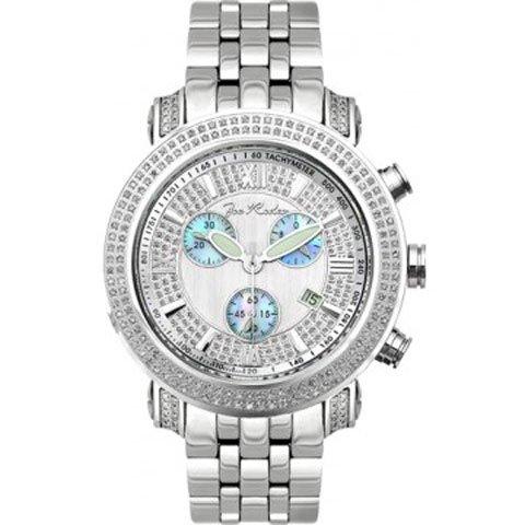 ジョーロデオ 腕時計 テイラー JTY6 シルバー×ブルー 2,0カラット ダイヤモンドウォッチ