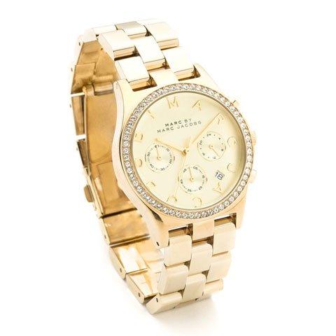 マークバイマークジェイコブス  腕時計 レディース ヘンリー MBM3105 ゴールド