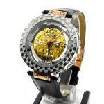 アクアマスター 腕時計 自動巻き W314-2 ローズゴールド スケルトンダイヤル 1.25カラット