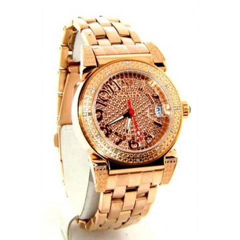 アクアマスター/Aqua Master 時計 レディース W88-J3 ダイヤモンド パヴェダイアル×ローズゴールドステンレスベ…