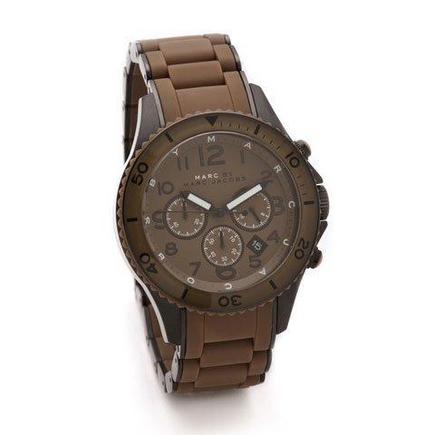 マークバイマークジェイコブス 腕時計 レディース ラージロック MBM2582 ブラウン
