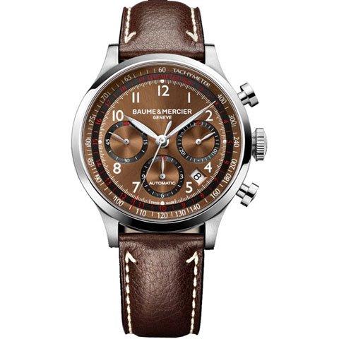 ボーム&メルシエ 腕時計 ケープランド クロノグラフ M0A10002 ブラウン
