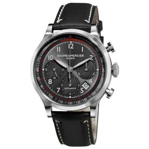 ボーム&メルシエ 腕時計 ケープランド クロノグラフ M0A10003 ブラック