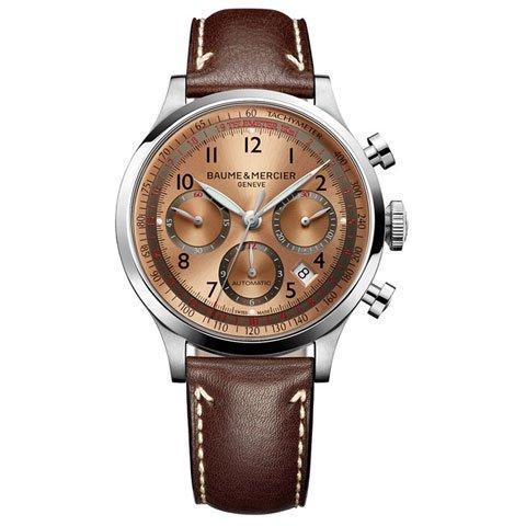 ボーム&メルシエ 腕時計 ケープランド クロノグラフ M0A10004