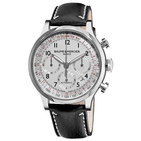 ボーム&メルシエ 腕時計 ケープランド クロノグラフ M0A10005 シルバー