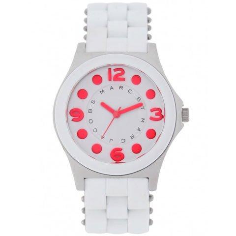 マークバイマークジェイコブス 腕時計 レディース ペリー MBM2588 ホワイト×ピンク