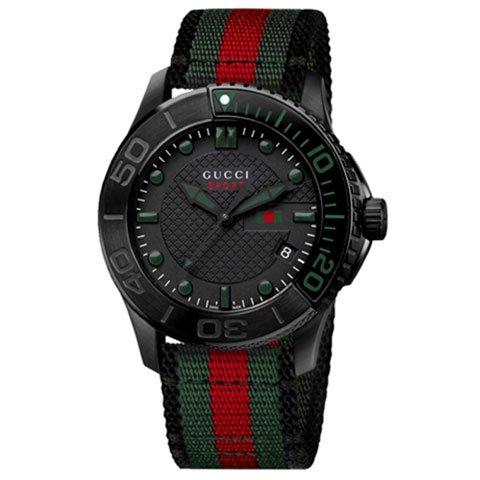 グッチ 腕時計 メンズ G-タイムレス スポーツ YA126229 ブラック