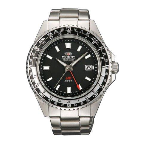 オリエント 腕時計 FFE06001B オートマチック エムフォース ブラック×ステンレススチールベルト