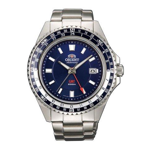 オリエント 腕時計 FFE06002D オートマチック ダイバーズウオッチ ブルー×ステンレススチールベルト