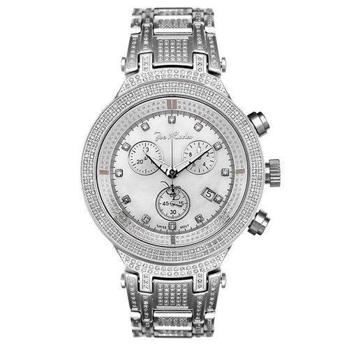 ジョーロデオ 腕時計 マスター ダイヤモンドウオッチ 4.75カラット JJM76 シルバー