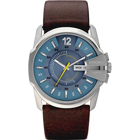 ディーゼル 腕時計 マスターチーフ DZ1399 ブルー×ブラウン