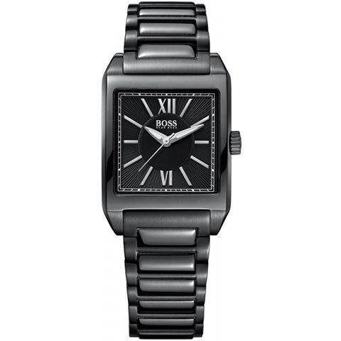 ヒューゴボス 腕時計 レディース ブラック 1502236 ブラック×ブラック