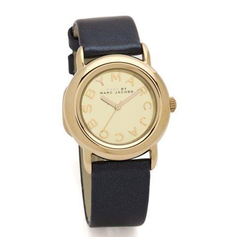 マークバイマークジェイコブス 腕時計 レディース MBM1221 マーシーミラー ネイビー×ゴールド
