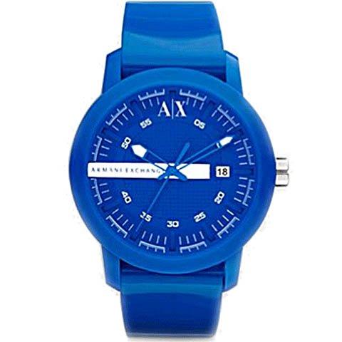 アルマーニエクスチェンジ 腕時計 メンズ AX1236 ブルー×ブルー