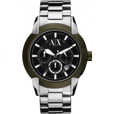 アルマーニエクスチェンジ/Armani Exchange/腕時計/メンズ/AX1175/クロノグラフ/ブラック×シルバー