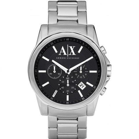アルマーニエクスチェンジ/Armani Exchange/腕時計/メンズ/AX2084/クロノグラフ/ブラック×シルバー
