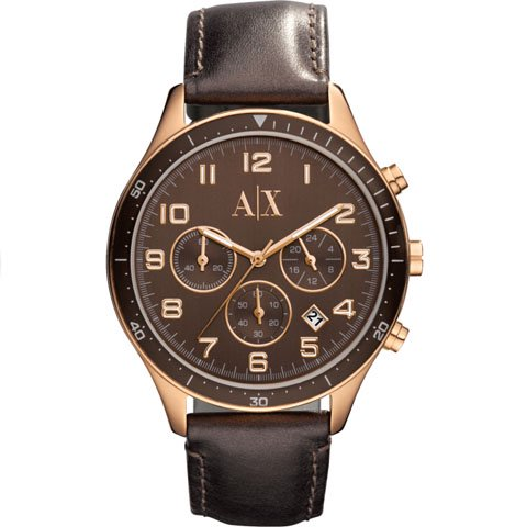 アルマーニエクスチェンジ 腕時計 レディース AX5102 ブラウン×ブラウン