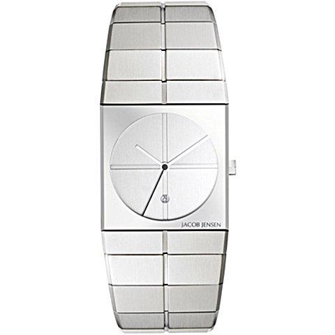 ヤコブ・イェンセン 腕時計 メンズ 212 シルバー