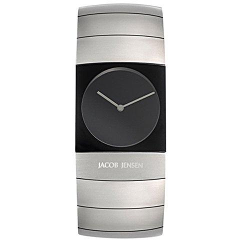<img class='new_mark_img1' src='https://img.shop-pro.jp/img/new/icons16.gif' style='border:none;display:inline;margin:0px;padding:0px;width:auto;' />ヤコブ・イェンセン 腕時計 メンズ 570 ブラック×シルバー