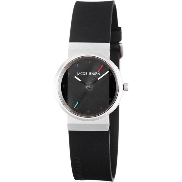 ヤコブ・イェンセン 腕時計 レディース 742 ブラック